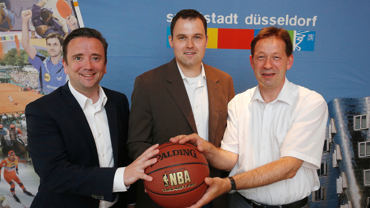 Neue Sponsoring-Vereinbarung: Düsseldorf Congress Sport & Event Unterstützt Die Giants Düsseldorf