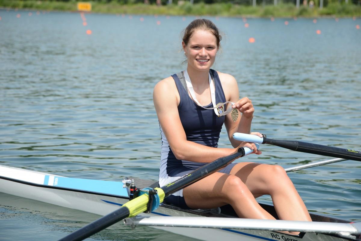 Deutsche Meisterschaften: Gold, 4x Silber, Bronze