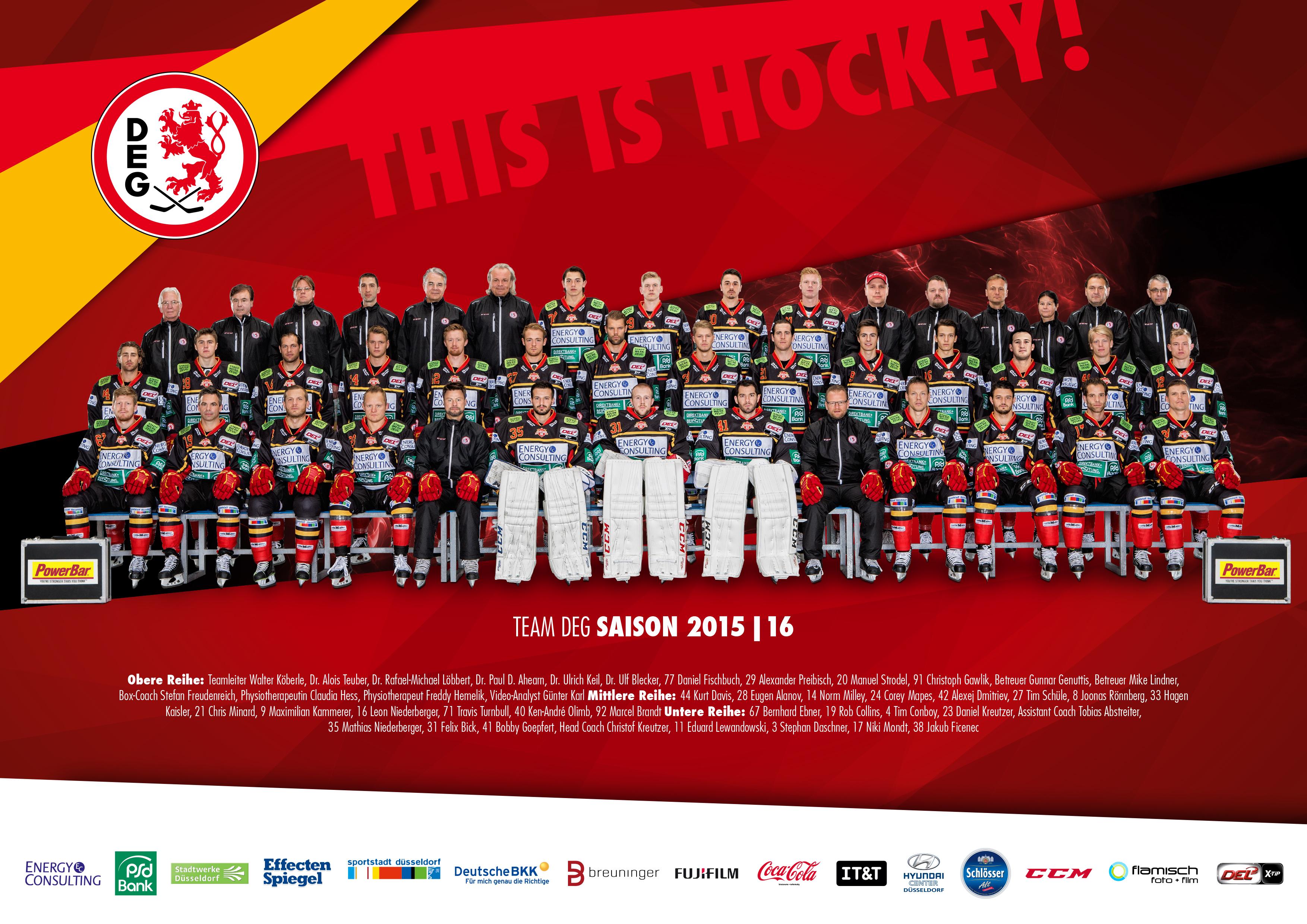 Auswahl Plakat A4 DEG Mannschaft 2015