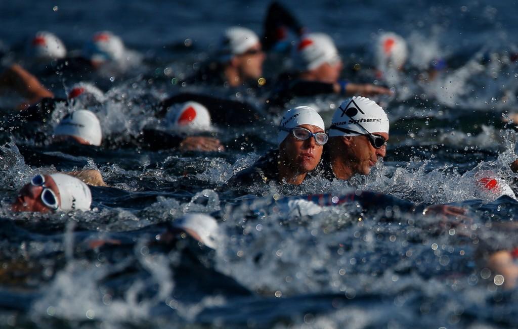23.08.15 2.Usee Schwim Wettbewerb im Unterbacher See.