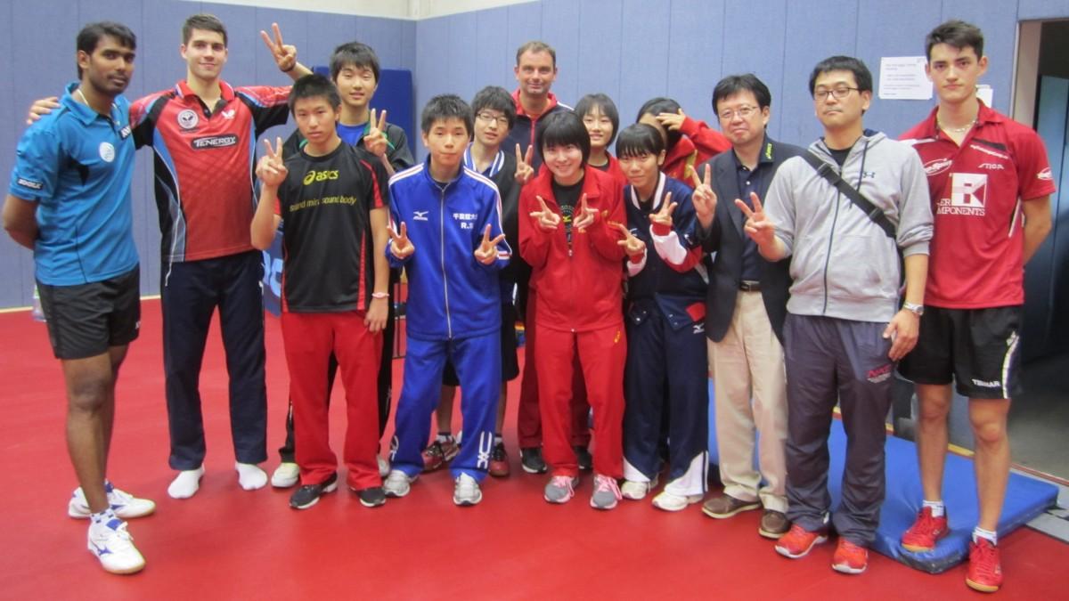 Japanische Jugendauswahl Aus Der Partnerregion Chiba Zu Gast In Düsseldorf