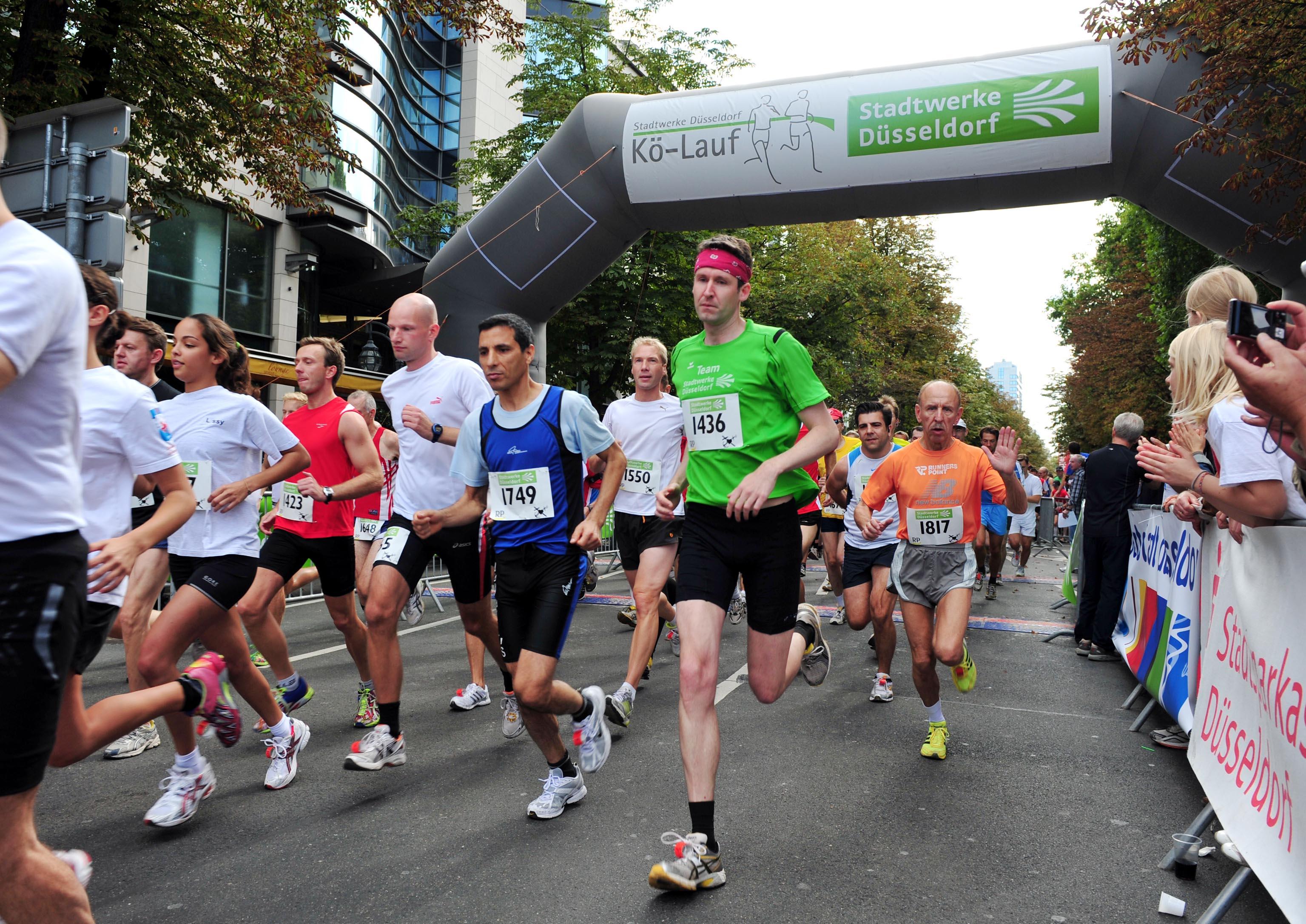 Stadtwerke Düsseldorf Halbmarathon Auf Der Kö