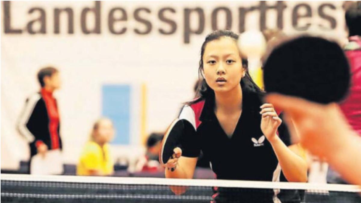 Yuan Wang Gewann Fünf Mal Mit Dem Team Vom Lessing Die Meisterschaft (Foto: David Young)
