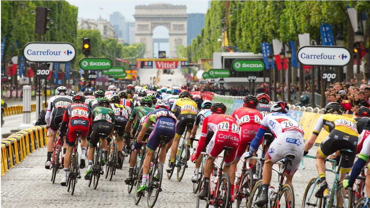 Tour De France In Klein-Paris