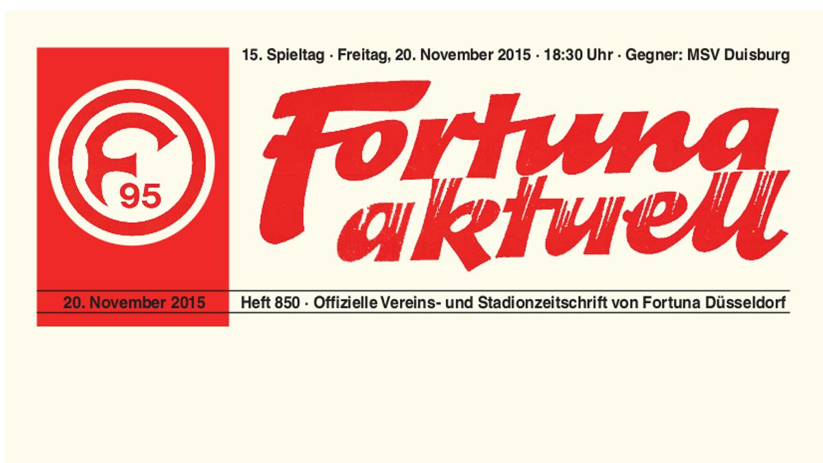 850 Fortuna Aktuell