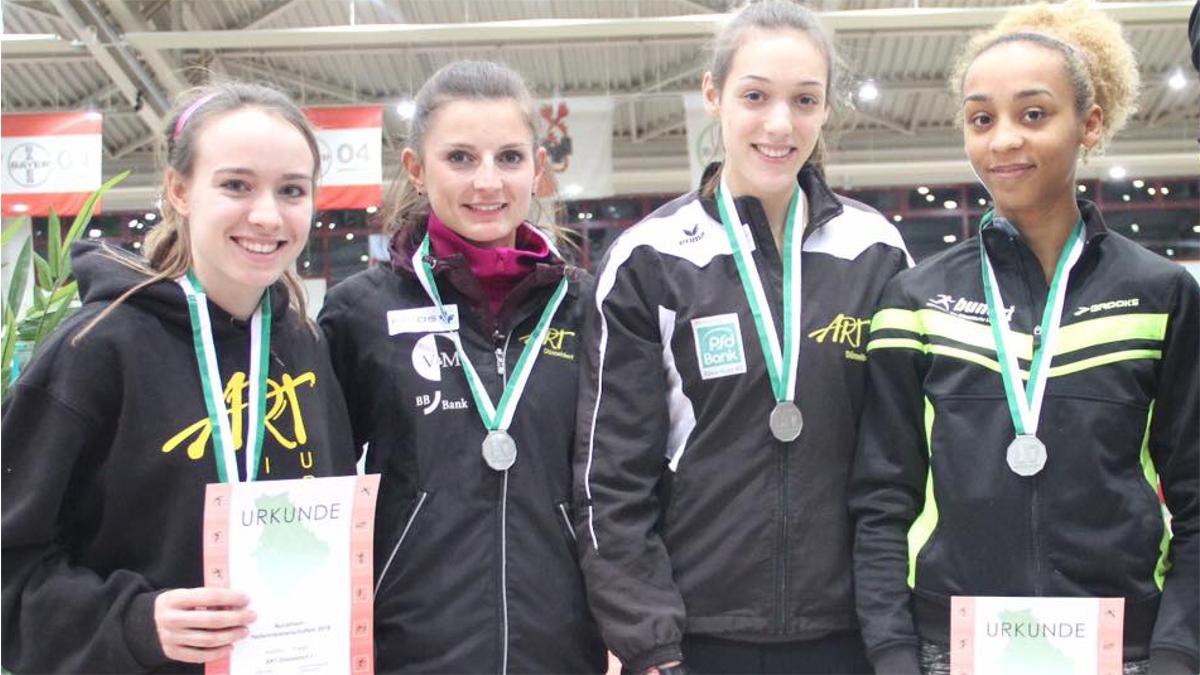 Alina Kuß, Inna Weit, Leonie Hönekopp Und Djamila Böhm (Foto: Bernward Franke)