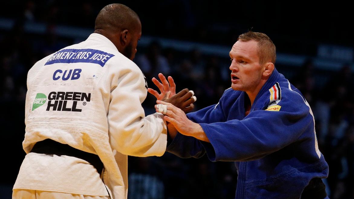 Dimitri Peters In Seinem Finalkampf Gegen Den Kubaner Jose Armenteros (Foto: DJB/Falk Scherf)