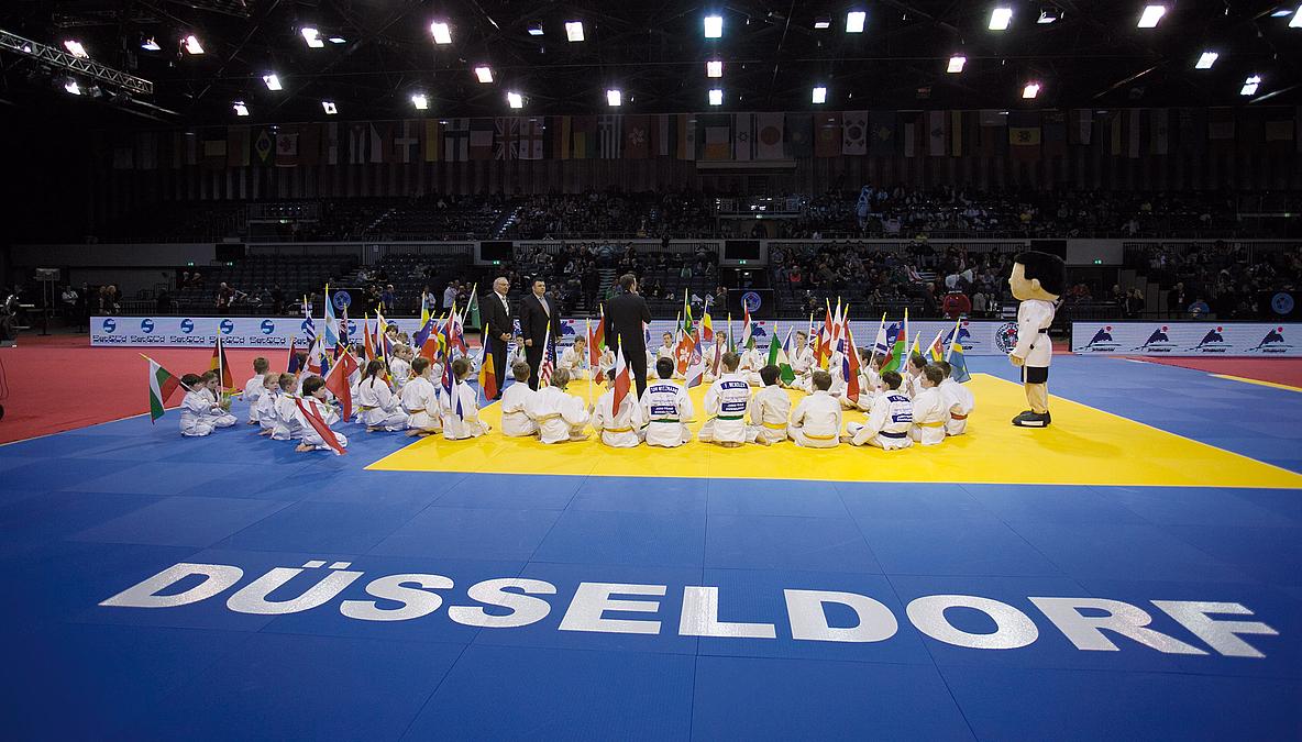Judo Grand Prix Düsseldorf – Mitsubishi Electric HALLE Am Samstag Ausverkauft