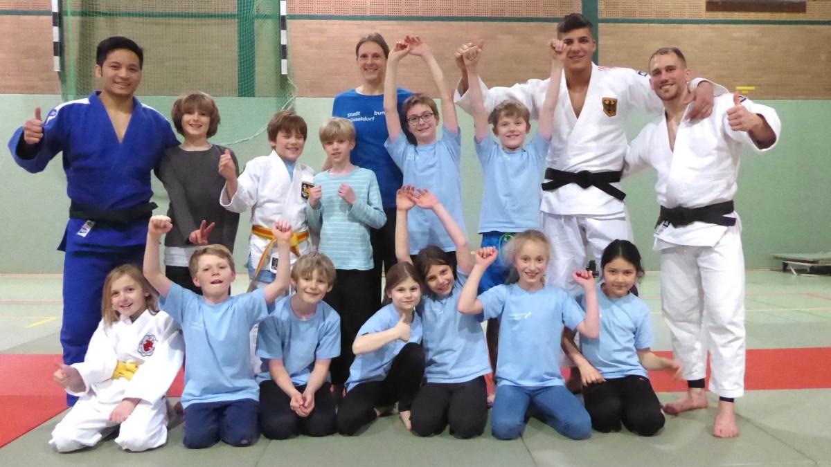 Talent Kids Mit Judoka