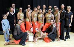 Tanzsport rot-weiss
