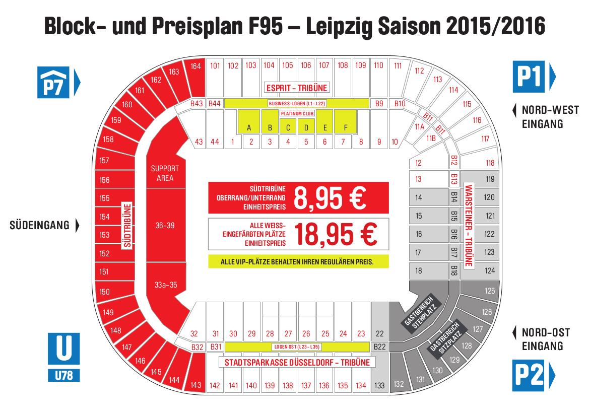 Stadionplan F95-Leipzig