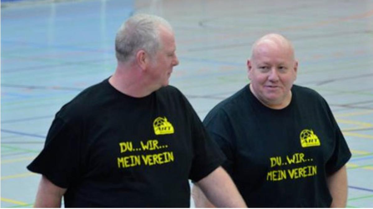 V.l.: Klaus Näckel Und Uwe Close