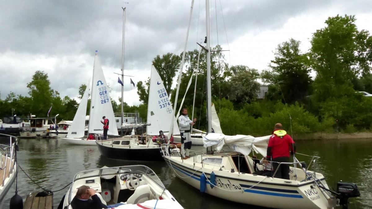 WSZ Abfahrt Der Rheinwoche Teilnehmer