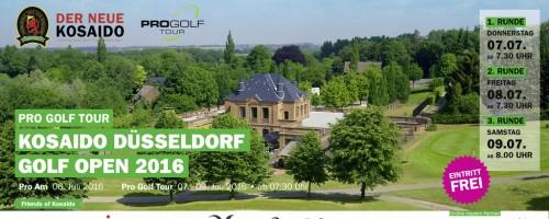 KOSAIDO Golf Düsseldorf Open 2016