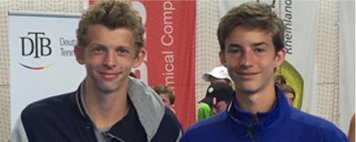 Zwei Kaiserswerther Spielen Beim Junior Davis Cup
