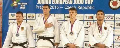 Johannes Frey (JC71) Erkämpft Bronze Im Judo Beim European Cup In Prag