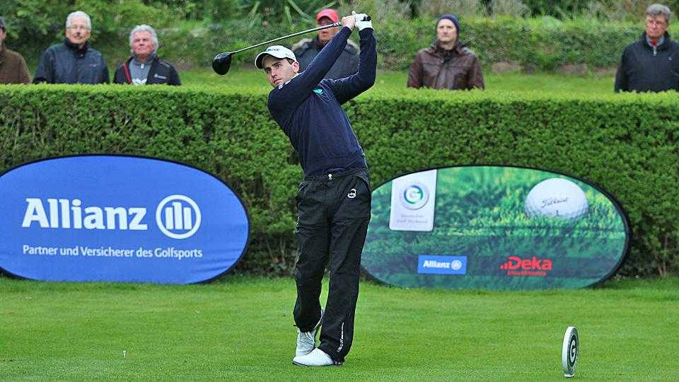 Wie Feiern Golfspieler Die Meisterschaft, Nicolai Von Dellingshausen?
