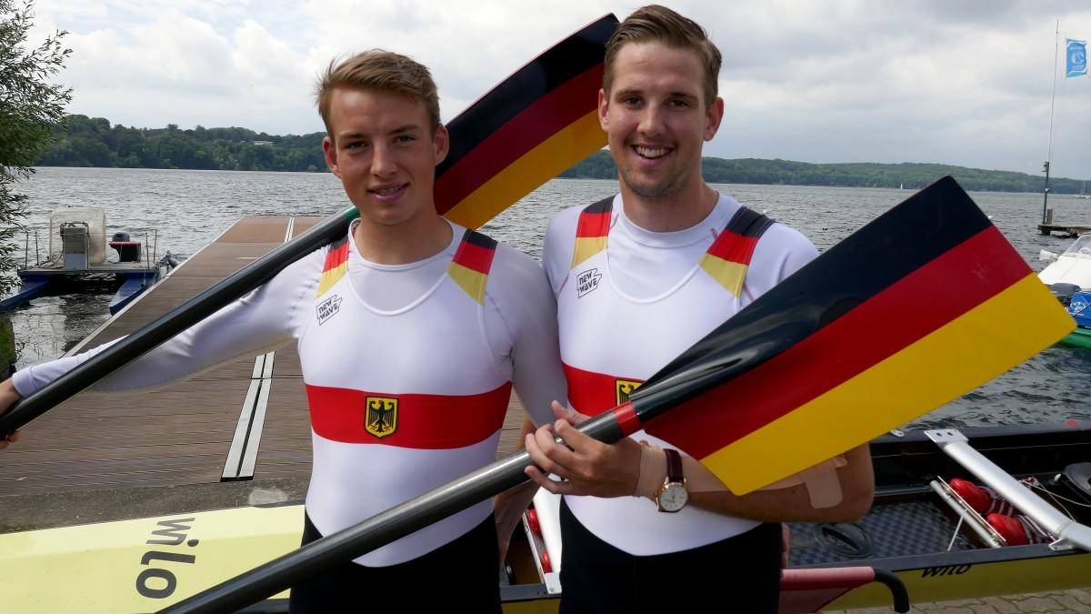 Anton Schulz, Daniel Tkaczick (Foto: RC Germania/Maren Derlien)