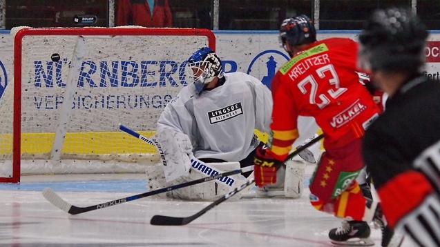 Der Treffer Zum 3:2 (Foto:  Birgit Häfner)