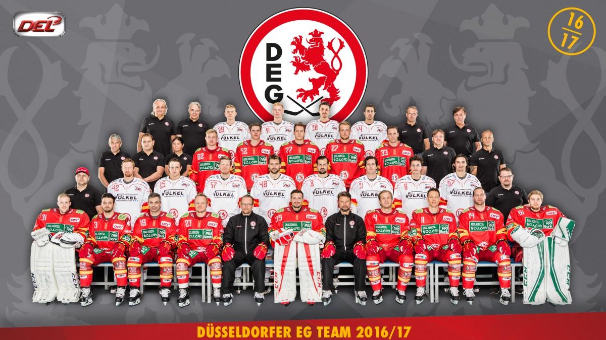 DEG Mannschaftsfoto A4