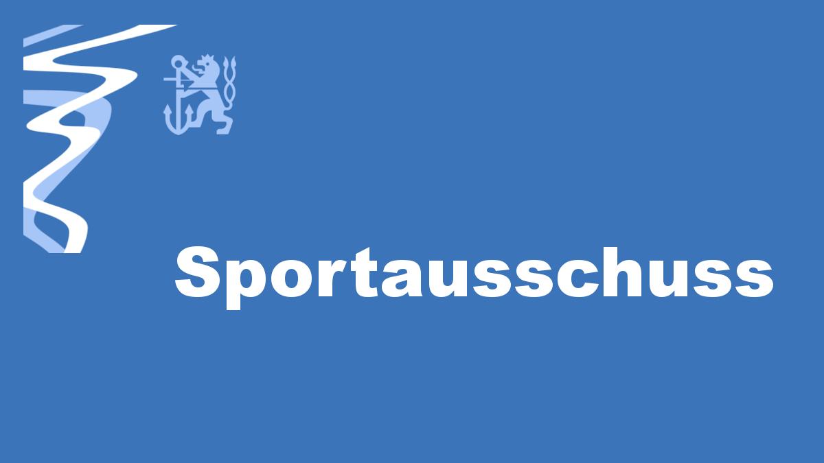 Sportausschuss