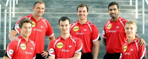 Table Tennis Champions League: Borussia Begeistert, Gewinnt Und Ist Vorzeitig Gruppenerster