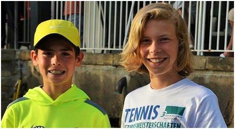 U12-Favoriten: Mattias Lofink Und Niklas Leisten