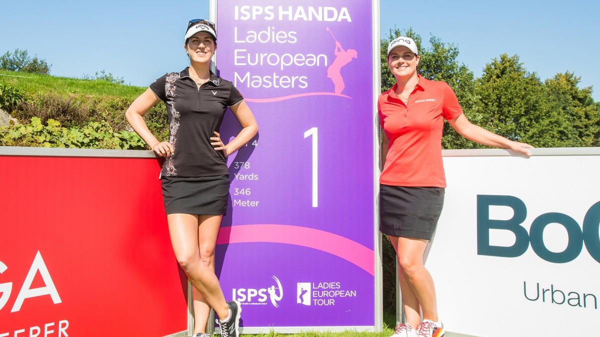 Sandra Gal (links) Und Caroline Masson