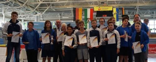 Tchoukballer Vom TBH Düsseldorf Starten Erstmals Mit Drei Teams Bei Einer Deutschen Meisterschaft – Junioren Holen Die Bronzemedaille