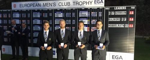 European Men's Golf Trophy –  3. Platz Für Den GC Hubbelrath