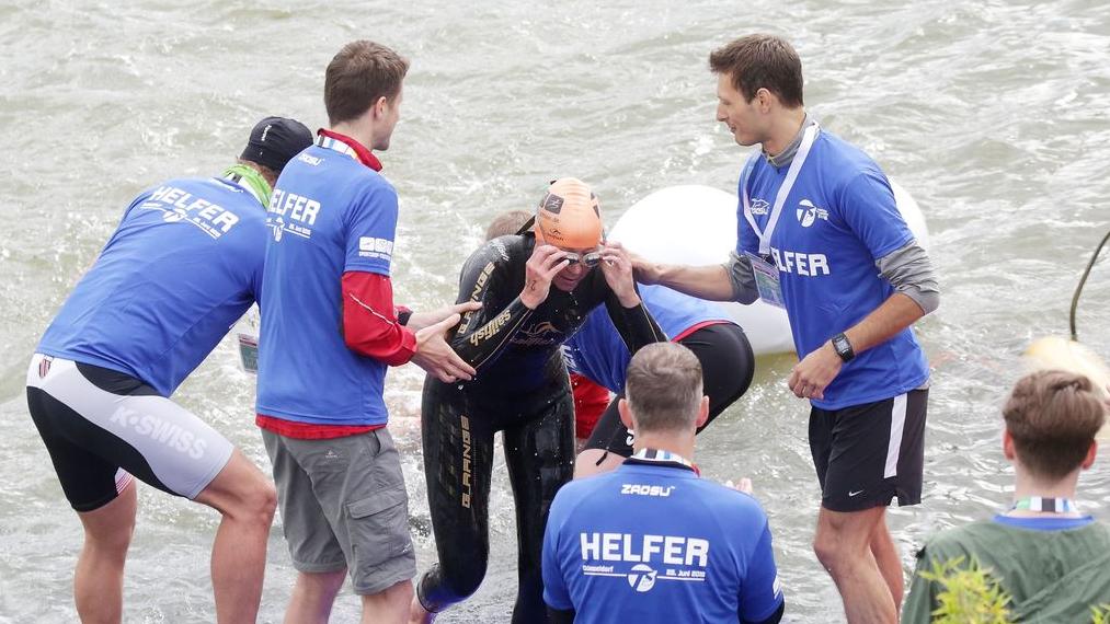 Triathlon Helfer Gesucht