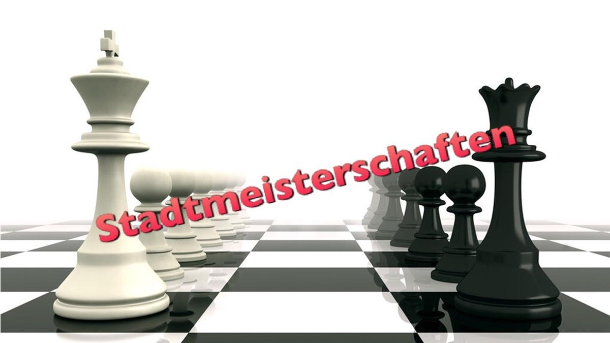 Schach Stadtmeister