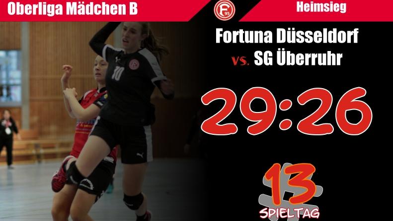 13 Spieltag Fortuna