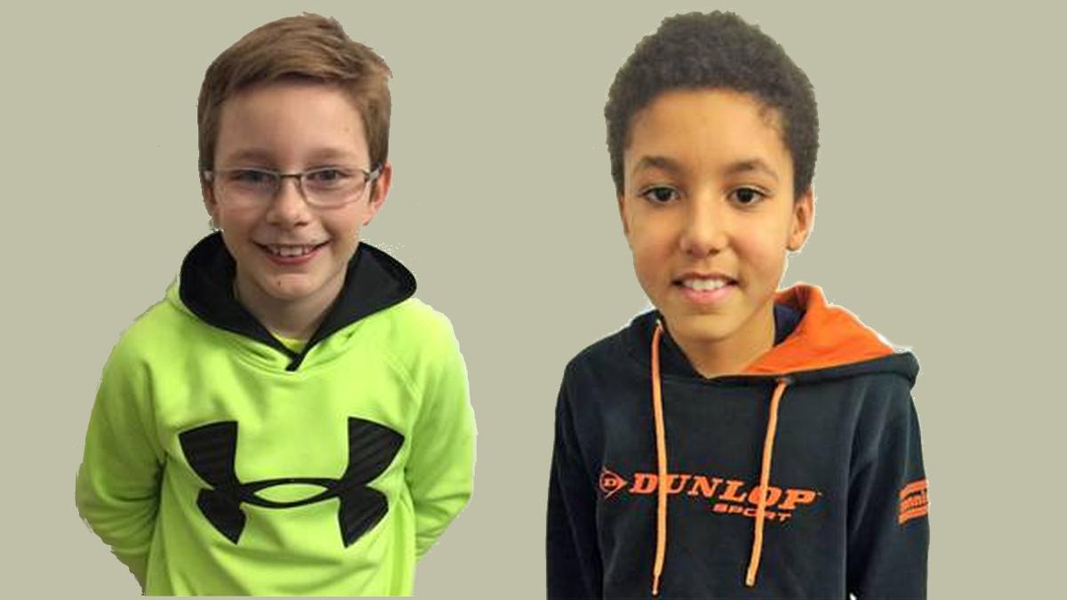 V.l.: Jonah Stork, TC Kaiserswerth Und Joshua Mbasha, Post SV