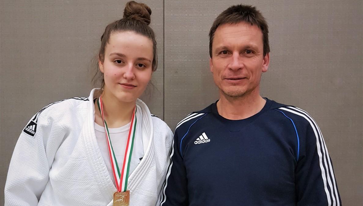 Arijana Peric Und Trainer Jens Kaiser