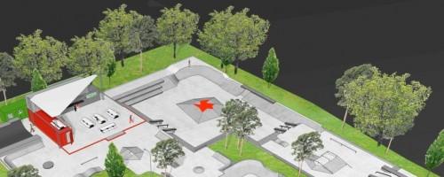 Sicherheitsdienst Schützt Nun Baustelle Des Skateparks Eller