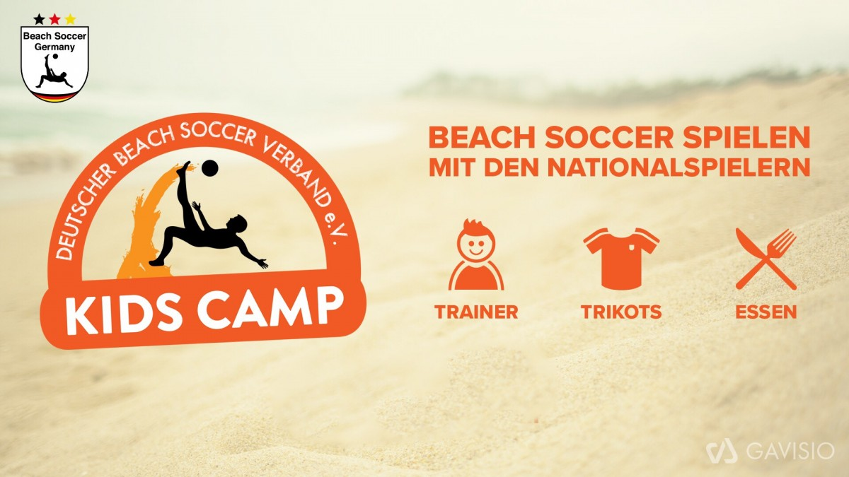 Beach Soccer Kids Camp