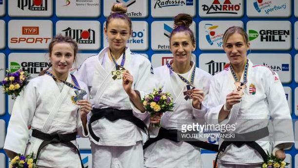 Judo Daria EM 2017