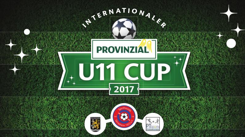 Plakatentwurf Provinzial U11 Cup 2