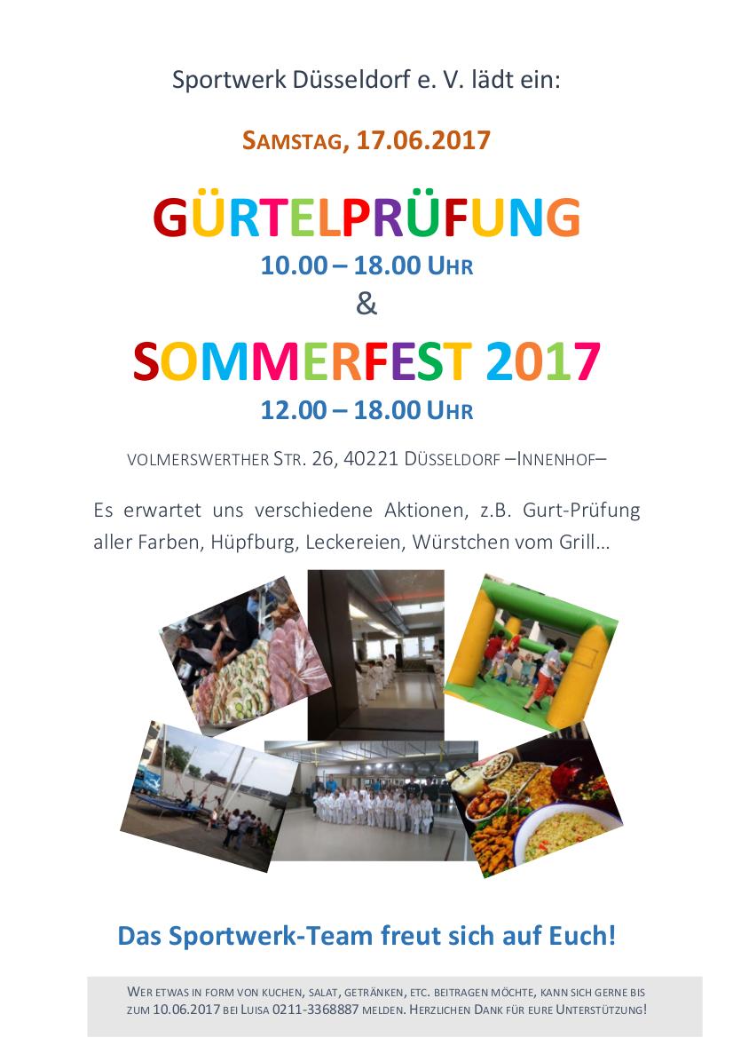 Einladung zum Sommerfest 2017_