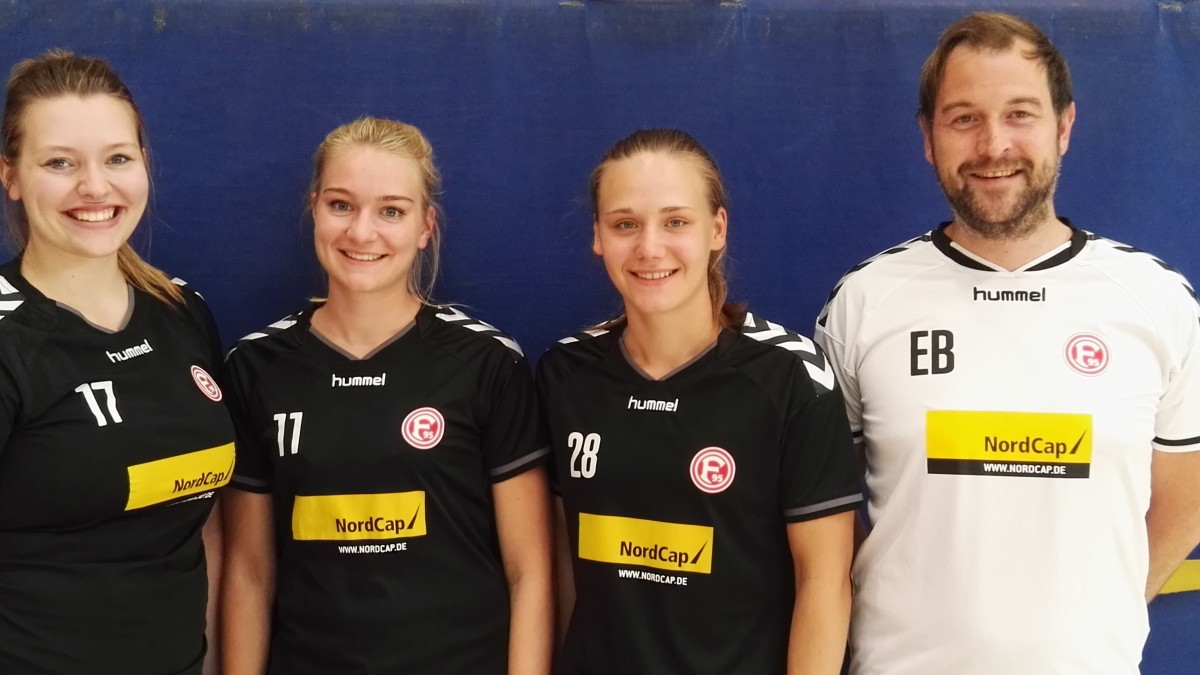 V.l.n.r.: Carina Randzio; Sophie Huckemann, Sina Söntgen, Eric Busch
