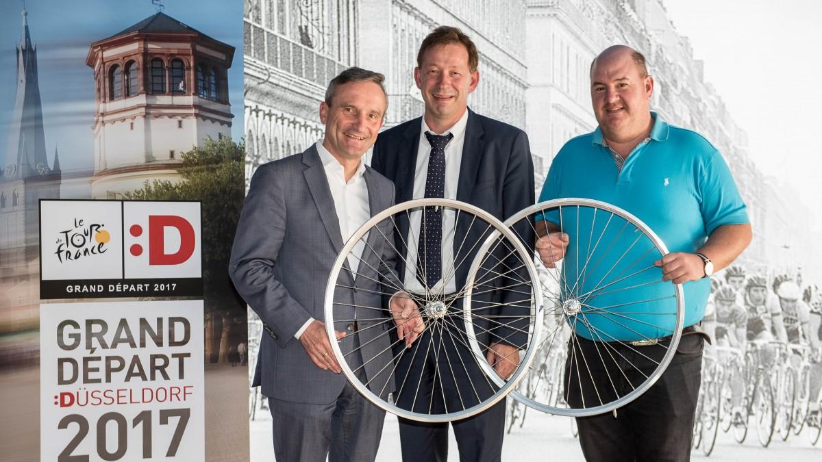 Düsseldorfs Radsportförderung Nimmt Nach Dem Grand Départ Fahrt Auf