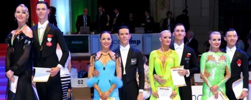 "Zwei Düsseldorfer Tanzpaare Unter Den ""Top Ten"" Beim Weltranglistenturnier In Wuppertal Bei Der DanceComp"