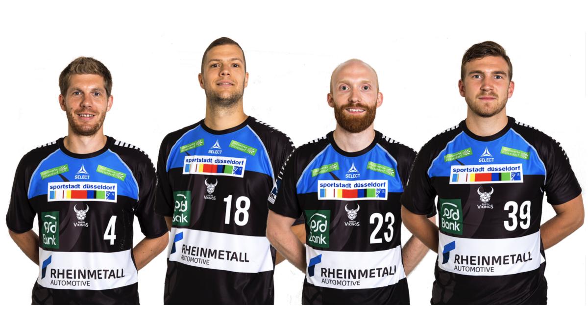 V.l.. Christian Hoße, Teo Coric, Nils Artmann Und Andreas Bornemann (Foto: Wort&Lichtbild)