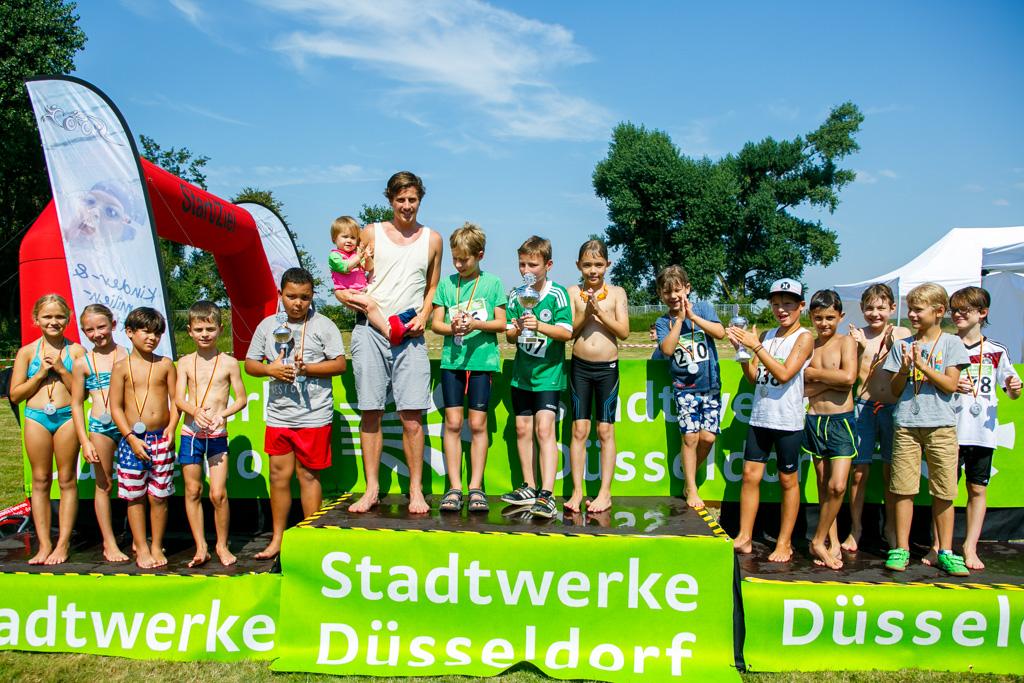 9. Stadtwerke Düsseldorf Familientriathlon
