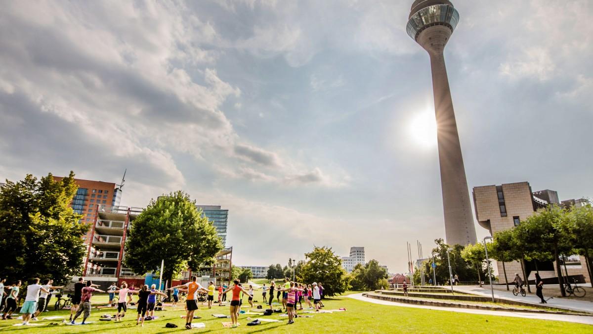 Sport Im Park Ist Auch 2017 Erfolgreich (Foto: Stadt Düsseldorf)