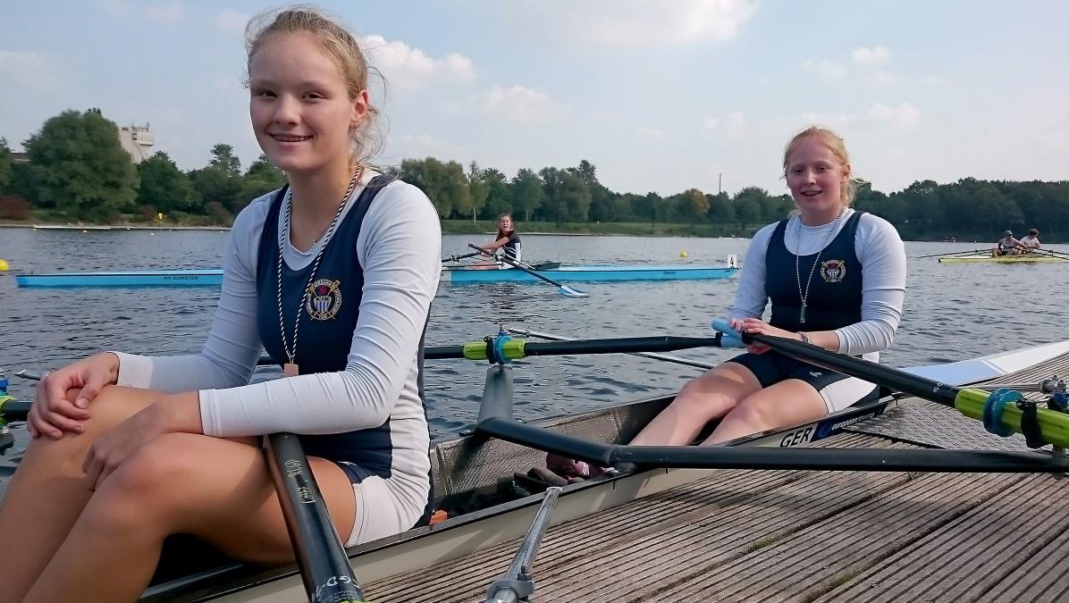 Catharina Dahmen Und Katharina Hallay (Foto: RCGD/Alfred Schimmelpfennig)