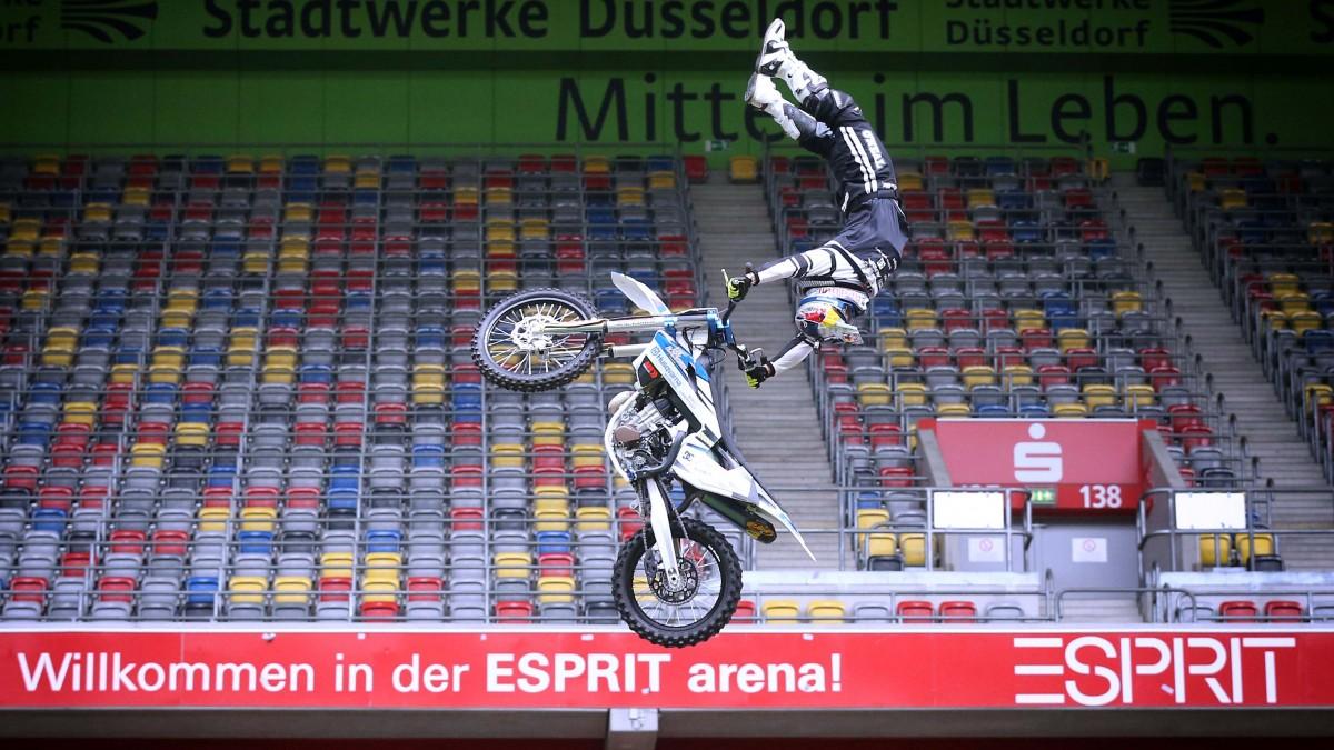 FMX-Star Luc Ackermann Zeigt Sein Ganzes Können Als Freestyler (Foto: Anke Hesse Fotografie Und Fotomarketing)