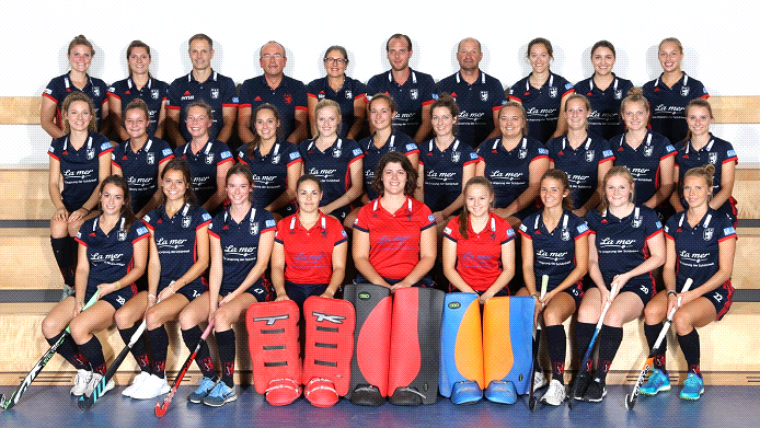 DHC Damen Mannschaft 2017