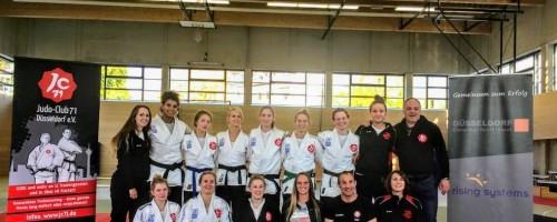 Sensationeller Durchmarsch Der Frauenmannschaft In Die 1. Judo-Bundesliga
